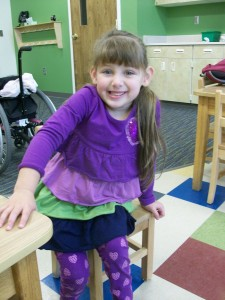 In the Preschool Room with Ruthie Grace